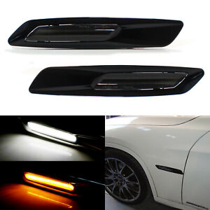 Bmw F10 Style White amber Switchback Led Light Side Marker Lamps For 1 3 Series