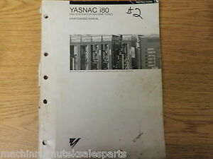 Yasnac I80 Cnc System For Machine Tools Maintenance Manual