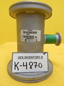 Edwards C5371 High Vacuum Adapter Tee Iso80 To Iso100 Iso k Nw25 Used Working