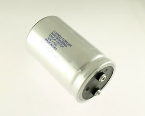 Cde M39018 04 2204m 3300uf 100v Large Can Electrolytic Capacitors