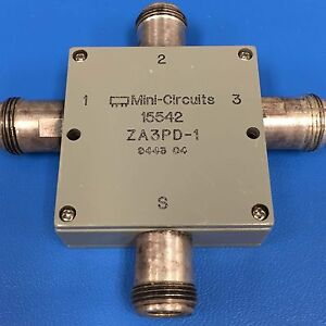 Mini circuits Za3pd 1 Dc Pass Power Splitter combiner 500 Mhz To 1000 Mhz