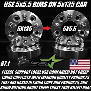 5x135 To 5x5 5 Wheel Adapters 1 5 Inch Use Dodge Rims On Ford 5x135 To 5x139 7