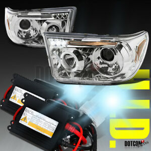 Slim Hid Conversion Kit 2007 2013 For Toyota Tundra Clear Projector Headlights