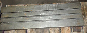 40 X 12 X 3 5 Steel Weld T slotted Table Cast Iron Layout Plate Jig 3 Slot