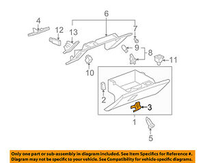 Glove Box Latch Chevy In Stock Replacement Auto Auto