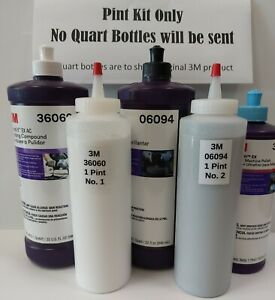 3m Perfect it Buffing Polishing Kit 39060 39061 39062 1kit