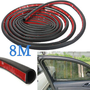 Car Motor Door Small D Shape Rubber Seal Weather Strip Oem Hollow 314 8m