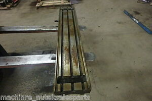 47 75 X 9 X 4 Steel Weld 3 T slotted Table Cast Iron Layout Plate Jig 3 Slot