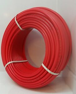 100 2 Non Oxygen Barrier Red Pex Tubing For Plumbing And Heating