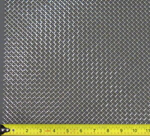 Universal 12 X 12 1 4 Spacing Stainless Steel Woven Wire Grill Mesh Sheet