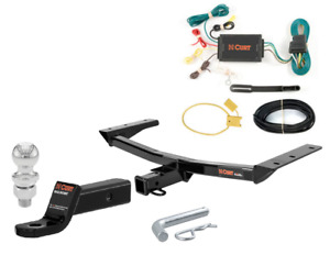 Curt Class 3 Trailer Hitch Tow Package W 2 Ball For Lexus Rx350