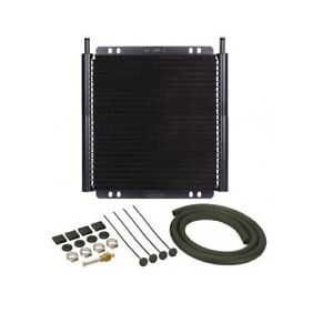 Derale 13504 Series 8000 Plate Fin Transmission Cooler Kit 24 Row