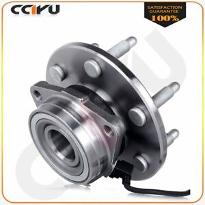 Front Wheel Bearing Hub Assembly Fits Gmc Sierra Chevy Silverado 1500 4x4 6 Lug