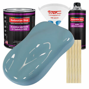 Glacier Blue Gallon Kit Single Stage Acrylic Urethane Car Auto Body Paint Kit