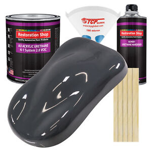 Machinery Gray Gallon Kit Single Stage Acrylic Urethane Car Auto Body Paint Kit