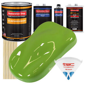 Sublime Green Gallon Urethane Basecoat Clearcoat Car Auto Paint Fast Kit