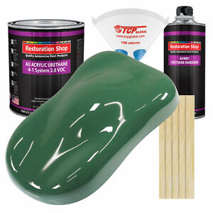 Transport Green Gallon Kit Single Stage Acrylic Urethane Car Auto Paint Kit
