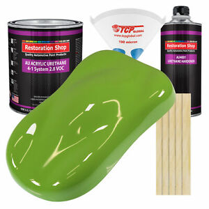 Sublime Green Gallon Kit Single Stage Acrylic Urethane Car Auto Body Paint Kit