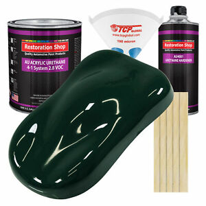 British Racing Green Gallon Kit Single Stage Acrylic Urethane Car Auto Paint Kit