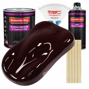 Royal Maroon Gallon Kit Single Stage Acrylic Urethane Car Auto Body Paint Kit