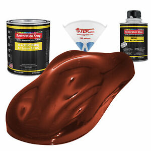 Firethorn Red Pearl Quart Kit Single Stage Acrylic Enamel Auto Body Paint Kit