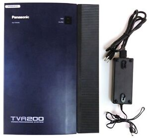 Panasonic Kx tva200 Voice Processing System Defaulted Upgraded