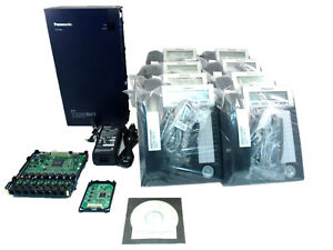 Panasonic Kx tda50 System 8 Kx dt333 Phones complete System Package