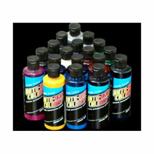18 Auto air Candy Colors Paint airbrush car craft hobby