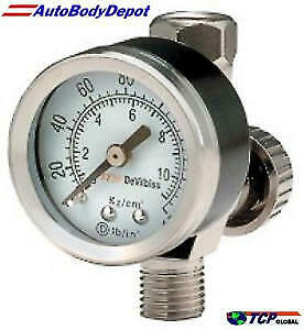 Devilbiss Hav 501 Air Valve Regulator W Gauge Hvlp Auto Paint Spray Gun Hose