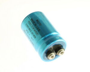 Lot Of 5 Mallory 2700uf 40v Large Can Electrolytic Capacitor Cgs272u040r2c