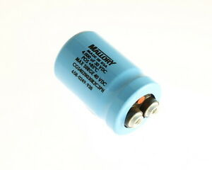 Lot Of 5 Mallory 4000uf 30v Large Can Electrolytic Capacitor Cgs402u030r2c3ph