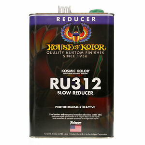 1 Gallon Ru312 Ru 312 House Of Kolor Slow Reducer Paint
