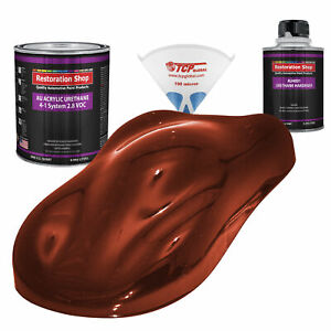 Firethorn Red Pearl Quart Kit Single Stage Acrylic Urethane Auto Body Paint Kit