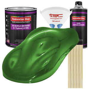 Firemist Green Gallon Kit Single Stage Acrylic Urethane Car Auto Body Paint Kit