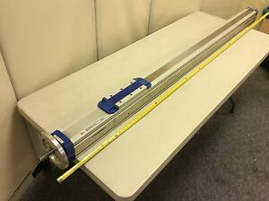 Thomson M100 Linear Rodless Actuator Tg10k109 a00x194 A Saddle Prism Guided