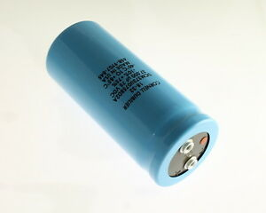 Cde 37000uf 75v Large Can Electrolytic Capacitor Dcm373u075bd2a