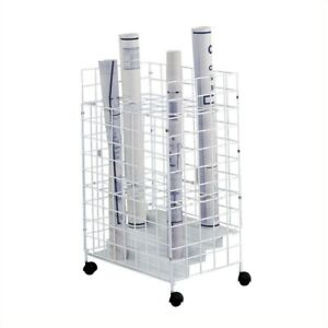 Safco 31 75 h Tried Wire Roll File With 24 Compartments
