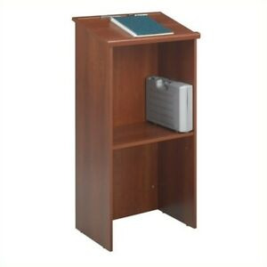 Safco Stand up Lectern In Cherry