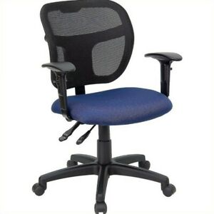 Flash Furniture Mid back Mesh Task Office Chair In Navy Blue