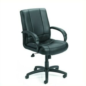 Boss Office Products Mid back Caressoft Executive Office Chair