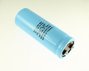 Cde 2000uf 400v Large Can Electrolytic Capacitor 550c202t400bf2b