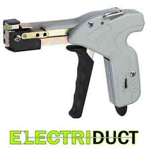 Stainless Steel Cable Tie Gun Electriduct