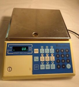 Teraoka Dp 10 Weighing Systems Digi Postal Dp 10 Counting Scale 10 Lb Capacity