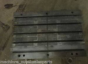 31 5 X 21 5 X 3 Steel Weld T slotted Table Cast Iron Layout Plate Jig_5 Slot
