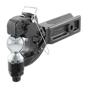 Curt 48012 Trailer Hitch Ball Mount Pintle Combination For 2 5 Receivers