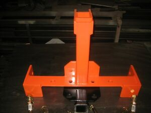 Transformer 3 Point Tailer Hitch That Is Quick Hitch Compatible For Kubota kioti