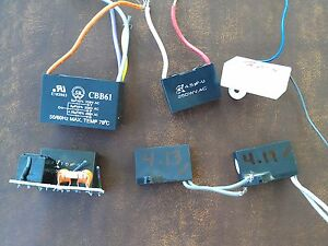 6cc68 Assorted Capacitors All Verified 250vac Class 1 5 6 Mf Very Good