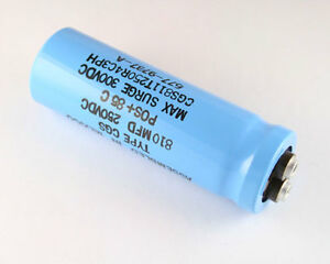 Lot Of 10 Aero m 810uf 250v Large Can Electrolytic Capacitor Cgs811t250r4c3ph