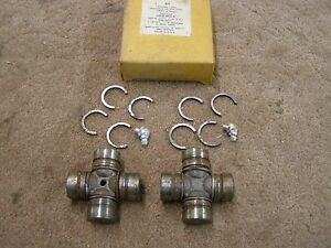 Nos Ford 1963 1964 Falcon Drive Shaft U Joints 6 Cylinder