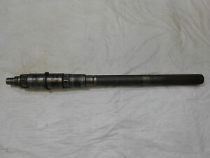 1967 1981 Camaro 4 Speed Saginaw Manual Transmission Output Shaft